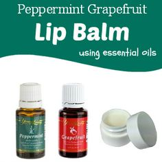 One of my favorite blends is 25% Peppermint 75% Grapefruit. It can make a lovely lip balm, too! #YLEO