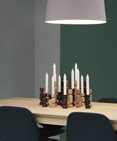 Lumberjack Candle Holder