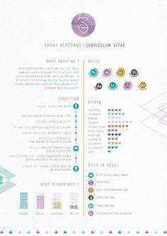 40 Creative CV Resume Designs Inspiration 2014 – Web & Graphic Design on Bashooka Portfolio Resume, Portfolio Design, Portfolio Ideas, Web Design Blog, Design Trends, Creative Resume Design, Creative Suite, Ads Creative, Conception Cv