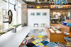 """Fashion label's new Tokyo boutique scales the heights of retail with a riot of colour… """