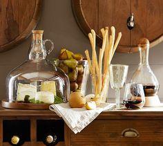 Santino Recycled Glassware, Set of 6 | Pottery Barn