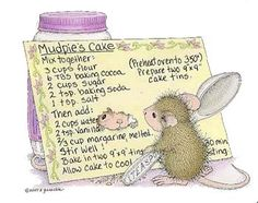 """""""Mudpie and Maxwell"""" from House-Mouse Designs®"""