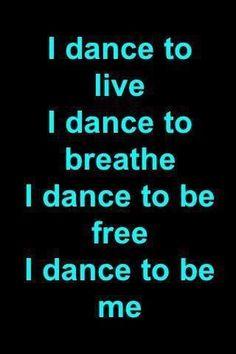 Why do I dance?                                                       …