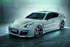 2014 Porsche Panamera Techart Grand GT.