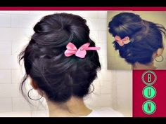 ★KOREAN SOCK BUN | UPSIDE DOWN FRENCH BRAID BUN TUTORIAL FOR MEDIUM LONG HAIR | HAIRSTYLES UPDO