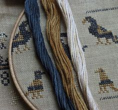 Teapot Marking Sampler E-pattern Cross Stitch Thread, Cross Stitch Samplers, Cross Stitch Charts, Cross Stitch Patterns, Primitive Stitchery, Cross Stitch Finishing, Wooden Hoop, Alphabet And Numbers, Rug Hooking