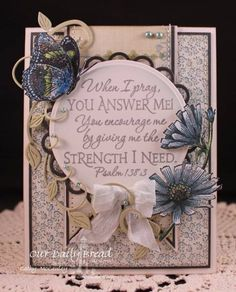 Answered Prayer by cathymac - Cards and Paper Crafts at Splitcoaststampers