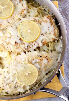 Lemon Chicken Parmesan.