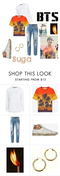 """Suga"" by lyly15psr on Polyvore featuring Topman, Yves Saint Laurent, Dolce&Gabbana, men's fashion et menswear"