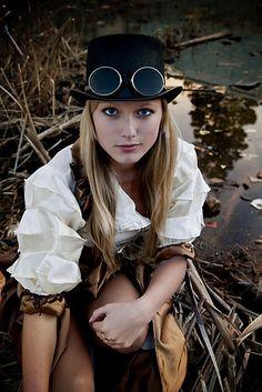 steampunk women | Steampunk girls
