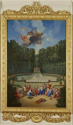 Jean Cotelle, le Jeune | Vénus, vêtue et parée par les Heures en présence de son père Ouranos | Images d'Art