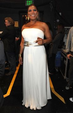 Want to cool down for the summer? Try wearing 'all white everything' like your favorite celebrities - Queen Latifah
