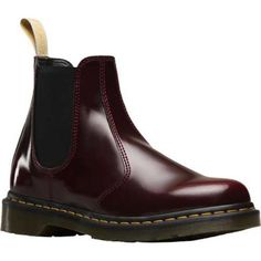 Men's Dr. Martens Vegan 2976 Chelsea Boot Red Bush