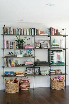 How To Decorate Shelves: 57 Best Shelfies Open Shelving In Living Room