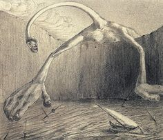 The surreal and 'degenerate' art of Alfred Kubin | Dangerous Minds