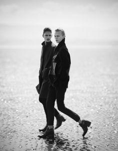 Juliana Schurig & Dalianah Arekion for i-D Fall 2013   Boo George