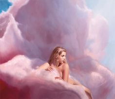 """""""Candy Clouds (Hannah)"""" 2008 by Will Cotton's"""