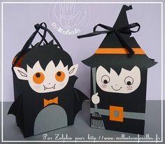 Sacs vampire & sorcière pour Halloween