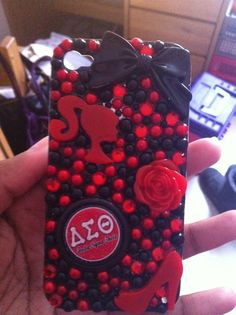 Delta Sigma Theta iPhone 4 & 4s case by DreamCasez on Etsy, $25.00