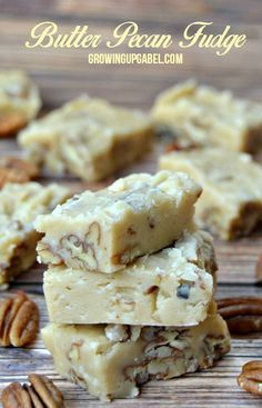 Butter Pecan Fudge R