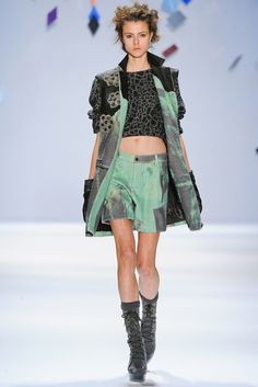 Custo Barcelona - Fall 2012 Ready-to-Wear