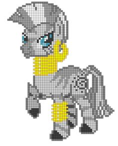MLP Zecora perler bead pattern by indidolph on deviantART