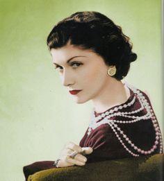 1936 - Coco Chanel By Boris Lipnitzki