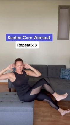 15 Minute Workout, Month Workout, Gym Workout Tips, Fitness Workout For Women, Hip Workout, No Equipment Workout, Workout Videos, At Home Workouts, Fitness Tips