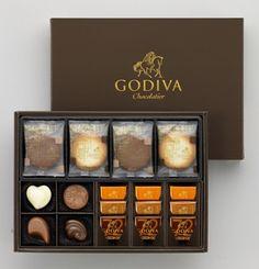 Godiva Japan, Cookies and Chocolate