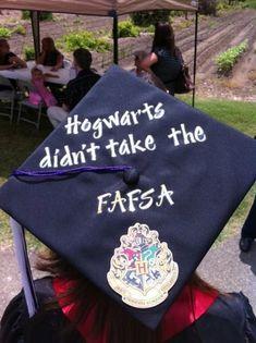 Or Harry Potter | Community Post: 14 Graduation Caps That Are Killin It!