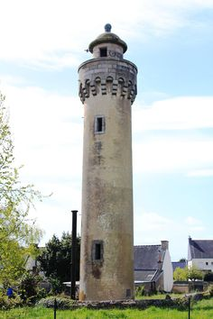 Phare de Poulfanc, Riantec, Morbihan, Bretagne, France