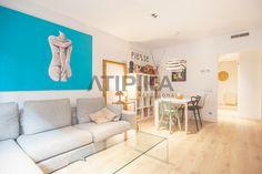 REF. 10640V Designer ground floor for #sale with a 70sq m private terrace and swimming pool. Close to 'Hospital de Sant Pau' and next to 'Ronda del Guinardó' #Horta #BaixGuinardo #Barcelona #AtipikaBarcelona #AtipikaBcn #RealEstate www.atipika.com