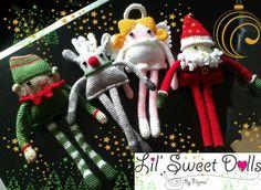 navidad christmas amigurumi crochet ganchillo doll  najma07