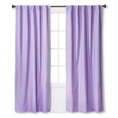 "Twill Light Blocking Curtain Panel Lavender (Purple) (42""x84"") - Pillowfort"