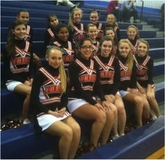 the Powhatan Indians Cheer Squad! #weloveourcustomers #GTMcheer