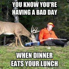Funny Hunting Pics, Deer Hunting Humor, Hunting Jokes, Hunting Pictures, Elk Hunting, Turkey Hunting, Archery Hunting, Women Hunting, Pheasant Hunting