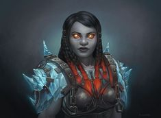 f Dwarf Cleric Medium Armor portrait female underdark fortress Evonice by nozomi-M DeviantArt med (saved) World Of Warcraft Paladin, Warcraft Legion, Warcraft Art, World Of Warcraft Characters, Dnd Characters, Character Portraits, Character Art, Dwarf Paladin, Cleric