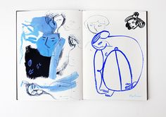 Sketchbook III on Behance by Gosia Herba