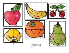 Preschool Printables: Fruit