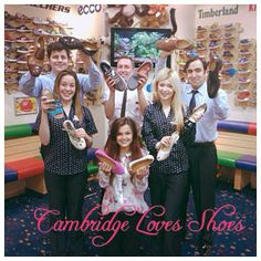 A real passion for shoes in Cambridge!