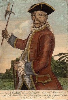 The Brave old Hendrick the great sachem or chief of the Mohawk Indians, London, 1740