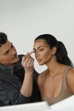 Kim Kardashian is launching her KKW Beauty collection tomorrow, starting with contour and highlight kits. Kim Kardashian is launching her KKW Beauty collection tomorrow, starting with contour and highlight kits. Le Contouring, Contouring And Highlighting, Kim Kardashian, Kardashian Beauty, Contour Kit, Contour Makeup, Mario Dedivanovic, Diy Beauty Makeup, Kim Makeup
