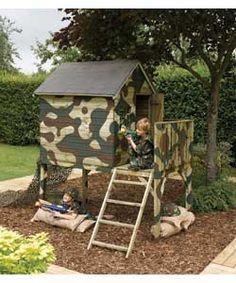 army playhouses for kids   Images via jasonbrooks , californiademocrat , random-good-stuff )