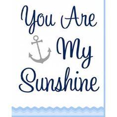 Nautical Sunshine (Yellow) Poster Print by Tamara Robinson x Mother Daughter Infinity Tattoos, Bible Verses, Nautical, Sunshine, Canvas Art, Walmart, Navy Marine, Nikko, Painted Canvas