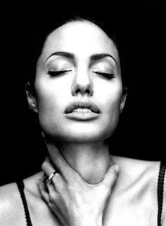 Angelina Jolie by Robert Maxwell