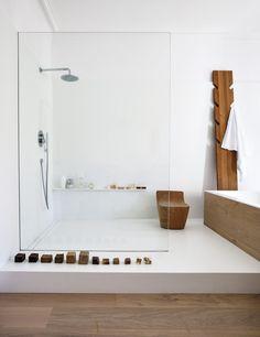 Home Interior Modern .Home Interior Modern Wood Bathroom, Modern Bathroom, Master Bathroom, White Bathroom, Bathroom Ideas, Japanese Bathroom, Colorful Bathroom, Eclectic Bathroom, Bathroom Trends