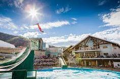 utah olympic park - Free Museum - ski jump practice viewing