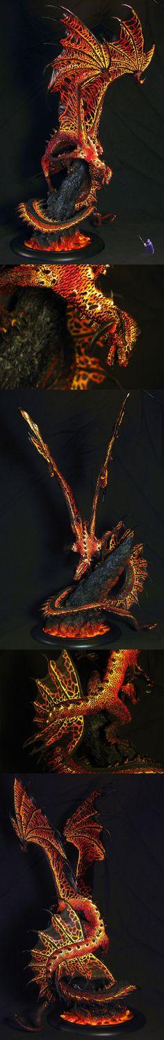 CoolMiniOrNot - Viszeralyn the Oracle Dragon as Charsaug Warhammer Paint, Warhammer Models, Warhammer Fantasy, Warhammer 40000, Dragon Miniatures, Fantasy Miniatures, Tabletop, Dragons, Fantasy Model