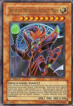 Arcanite Magician/Assault Mode