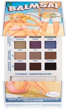 2da989ad9c The Balm Cosmetics Balmsai Eyeshadow and Brow Palette Multicolored